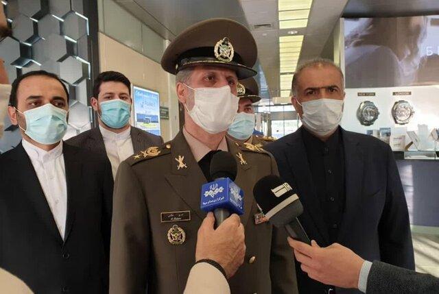 وزیر دفاع: همکاری های نظامی ایران و روسیه رو به پیشرفت است