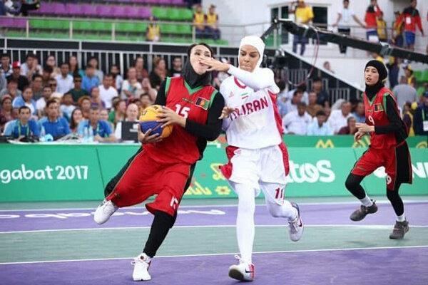 سنگِ لیگ در راستا المپیکی ملی پوشان بسکتبال سه نفره بانوان
