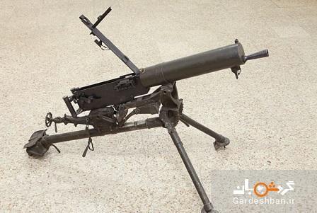 سلاح مورد علاقه رضاخان در موزه سعدآباد، عکس