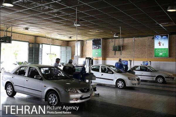 مراجعه 1660000 دستگاه خودرو به مراکز معاینه فنی طی یک سال گذشته