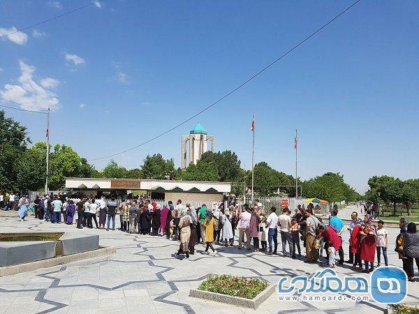 همدان در تعطیلات نوروزی پذیرای 266 هزار جهانگرد بود
