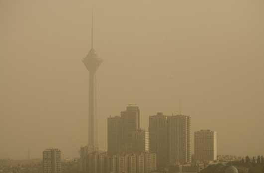 وزش باد شدید و گردوخاک در تهران و بعضی استان ها در 2 روز آینده